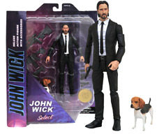 Diamond Select Keanu Reeves John Wick Deluxe Action Figure with Accessories NIB