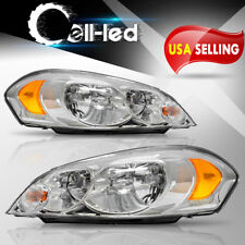 for 2009 Chevy Impala 06 07 Monte Carlo left & Right Headlights Assembly Pair