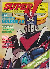 SUPER J 82/04 (26/1/82) GOLDORAK RICKY SCHROEDER SMOKEY ROBINSON LOUIS CHEDID