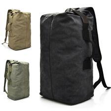 Canvas Men Backpack Duffle Bag Rucksack Hiking Travel Handbag Satchel 25L/35L