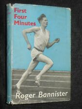 First Four Minutes by Roger Bannister (1955-1st) Runner Autobiography, Sports HB
