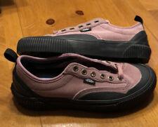 Women's Vans Sneakers Canvas Destruct SF Purple/Black Size 7 NEW