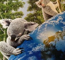 """Ceaco 550 Pc Koala Bears Glow-In-The Dark Puzzle """"The Greatest Love"""" COMPLETE"""