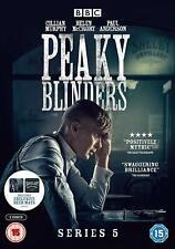 Peaky Blinders Season Series 5 BBC Region 2 DVD in Stock