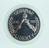 Proof 1988-S Seoul Olympiad Commemorative 90% Silver Dollar - Olympic