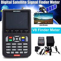 V8 Finder 3.5 inch LCD Satellite Signal Finder HD 1080P Satellite Receptor Meter