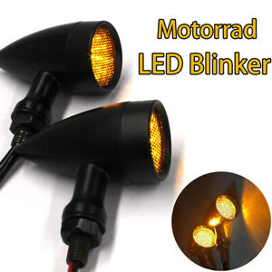 Motorcycle LED Turn Signal Brake Blinker Lights For Harley Davidson Sportster