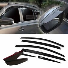 Smoke Window Vent Visors Side Mirror Rain Guard 8P For TOYOTA 2013-2017 RAV4
