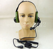 Surplus Chinese Military Radio Noise Cancelling Headphone Microphone-D1088