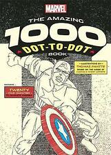 Marvel's Amazing 1000 Dot-to-Dot Book: 20 Comic Characters to Complete
