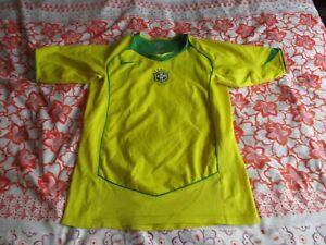 Brazil Home Shirt 2004-05 large boys
