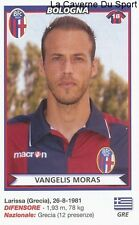 VANGELIS MORAS GREECE BOLOGNA.FC RARE UPDATE STICKER CALCIATORI 2011 PANINI