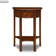 Hallway Entryway Table Foyer Lobby Wood Small Space Furniture Corner Accent Slim