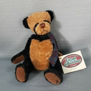 GANZ COTTAGE COLLECTIBLES  BEAR  PLOPPY 1999 LORRAINE with Tags
