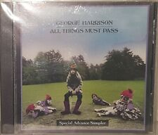 George Harrison (The Beatles) All Things Must Pass Special Advance Promo CD USA