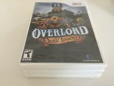 Overlord: Dark Legend (Nintendo Wii, 2009) WII NEW