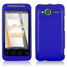 Solid Blue Hard Case Snap Cover for HTC EVO Shift 4G