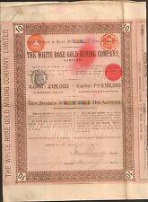 THE WHITE ROSE Gold Mining (AUSTRALIE) (J)