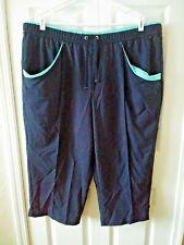 Life Polyester Lounge Exercise Drawstring Pants Size 3X