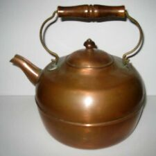 Revere Ware ® 1801 - Rome NY USA - 79 Copper Teapot With Wood Handle