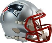 Riddell New England Patriots Revolution Speed Mini Football Helmet - Fanatics