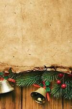 Christmas 150: Parchment and Bells Notebook : 150 Page Holiday Notebook...
