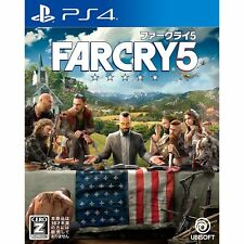 Ubisoft Far Cry 5 SONY PS4 PLAYSTATION 4 JAPANESE VERSION