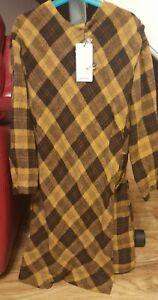 MANGO suit collection  LADIES Vestido Montain Dress Uk Size 8
