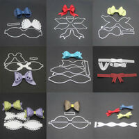 Lot Metal Bow Knot Die Cuts DIY Embossing Craft Cutting Die Card DIY sdRQv LrJNE