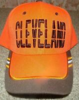 CLEVLAND BROWNS  Hat Cap Script Visor Embroidered Brown and orange #3