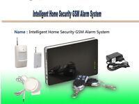 Intelligent Home Security Alarm GSM System Iphone&Android Phone Remote Control