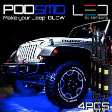 LED 4X4/OFF ROAD/JEEP Under Body Rock Lights Ultra Bright Blue!