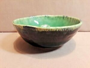Vintage CHAWAN Japanese Stoneware Pottery Ceremony Tea Bowl Signed (#4)