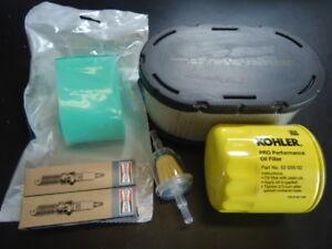 Tune Up Filter Maintenance Kit Kohler 7000 KT740 Pro Filtration Bad Boy ZT Elite