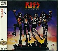 KISS DESTROYER 2011 JAPAN SHM RMST CD - NEW/SEALED GIFT QUALITY - FREE COMB S&H