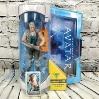 """James Camerons Avatar Colonel Miles Quaritch Movie Masters 6"""" Action Figure  NEW"""