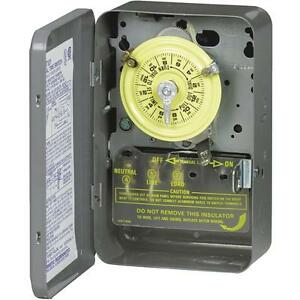 Intermatic 240V Dpst Time Switch