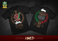 South Sydney Rabbitohs 21st Premiers ISC T Shirt Adults & Kids Sizes! Clearance!