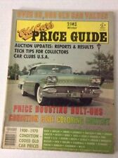 Old Cars Price Guide Magazine Tech Tips For Collectors 1981 Winter 032217NONRH