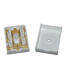 10 PACK: 77A 3 Pair IDC Telephone Junction / Connection Box / BT Joiner