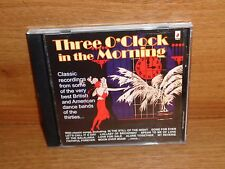 Dance Band Compilation : THREE O'CLOCK IN THE MORNING : CD Album : VIX9005