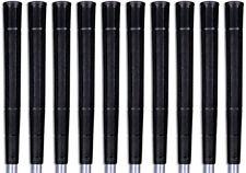 Tacki Mac Arthritic Black Golf Grips Jumbo Size (+1/8) - Set of 10 - NEW