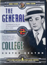 Buster Keaton stars in 2 movies The General and College  + 2 Betty Boop Cartoon