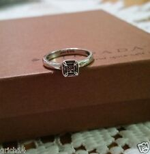 Silpada Belle Fleur Sterling Silver Stack Ring Sz 6 R2467
