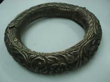 rare ancient antique collectible old silver horse anklet ankle bracelet bangle