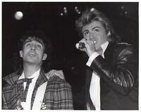GEORGE MICHAEL PHOTO 1984 UNRELEASED UNIQUE WHAM IMAGE EXCLUSIVE HUGE GEM RARE