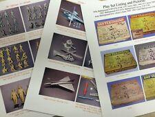 Marx BATTLEGROUND playset army guide 4749-50-51-52-53 3745-46 4161 4768 5960