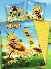 Bettwäsche Die Biene Maja + Willi - Sonnenblume  - 135 x 200 cm - Renforcé