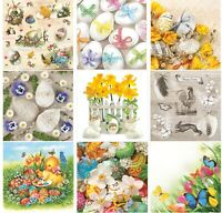 Easter Paper Napkins for Decoupage Craft Serviettes LUXURY 33x33cm 3PLY x 20