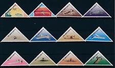 [SU549] Suriname Surinam 1987 Aviations Triangles  MNH